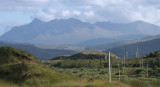 Cuillin Hills from north of Portree, Isle of Skye