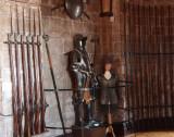 Bamburgh Castle interior