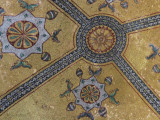 Ceiling decoration at the Imperial Gate entrance to the Hagia Sophia, Istanbul