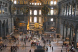 View from the gallery, Hagia Sofia, Istanbul