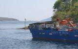 The Jura ferry at Port Askaig, Islay