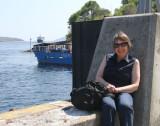 Brenda at Port Askaig, islay