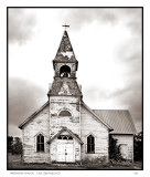 Methodist church   Lost Springs, KS