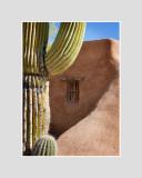 Chapel window, Tucson