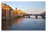 Sunrise from the Ponte Vecchio