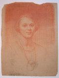 red chalk portrait 0058