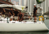 Crew of Red Eye beginning  Race to Philippines