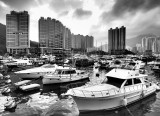 Typhoon Shelter from deck of Watermark