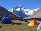 Rongbuk campsite