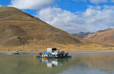 Yarlung Tsangpo ferry at Saga