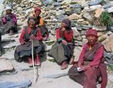 Nuns in the sun, Rongbuk