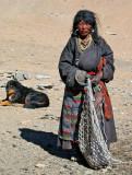 Changpa lady