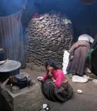 Nomads' tent, Litang