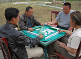 Playing mahjong, Litang