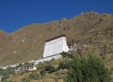 Thangka wall, Tashilunpo
