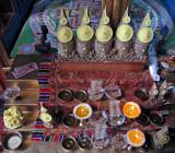 Yak butter altar