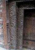 Temple door frame