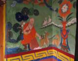 Monastery mural
