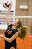 Girls Volleyball Over Trumbull