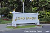 Loro Parque entrance panel
