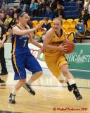 Queen's vs Lakehead W-Basketball 11-11-11