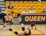 Queen's vs Toronto W-Volleyball 11-19-11