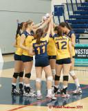 Queen's vs Ryerson W-Volleyball 12-02-11