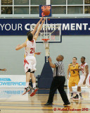 Queen's vs York M-Basketball 01-14-12