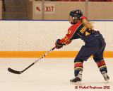 Queen's vs Guelph W-Hockey 01-21-12