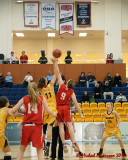 Queen's vs Royal Military College W-Basketball 02-04-12