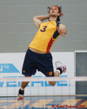 Queen's vs Guelph M-Volleyball 02-18-12