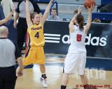 Queen's vs Carleton W-Basketball  02-11-12