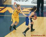 Queen's vs Ryerson WBasketball 02-21-12