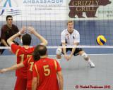 CIS Semi-final M-Volleyball Manitoba vs Laval 03-03-12