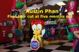 2011 - Austin Phan - First Hair Cut At Five Months Old