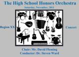 2011 - Andrew Phan - Region XX Orchestra Concert
