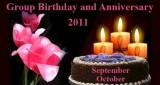 2011 - Group Birthday and Anniversary - Album 1 - Cakes