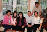 2011 - Cô Liên, anh Ngộ, Cẩm Hồng, Phuong Chi in Houston
