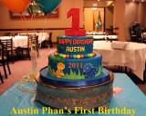 2012 - Austin Phan's First Birthday - Album 1: Cake
