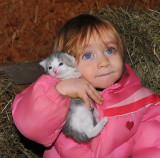 Angel with Kitty
