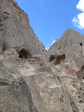 More carved rock structures
