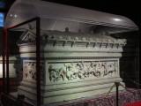 Archeology museum: Alexander sarcophagus
