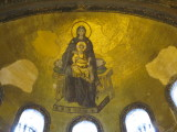 Mosaic in the apse