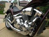 Honda Fury Engine Chrome
