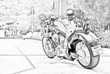 Honda Fury Photomania