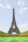 Eiffel Paint