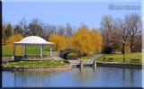 Onondaga Park Pavilion In Hiawatha Lake