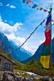 Langtang Valley (4,200m) - 6 day trek (2009)