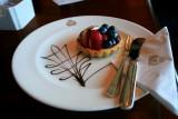 QUEEN VICTORIA Chart Room Afternoon Tea Cake