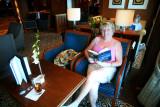 QUEEN VICTORIA Chart Room Margaret reading her book